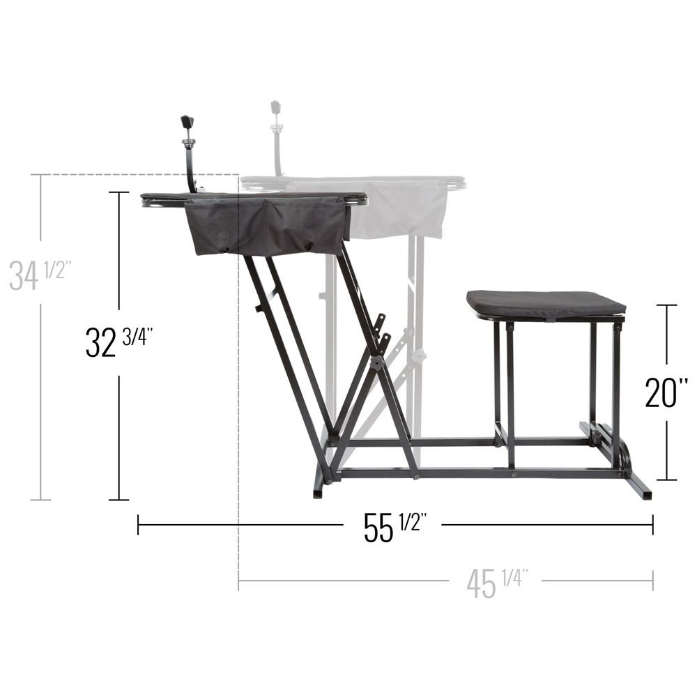 Portable Shooting Bench Seat with Table Gun Rest.jpg
